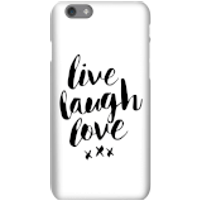 The Motivated Type Live Love Laugh Phone Case for iPhone and Android - Samsung Note 8 - Tough Case - Gloss - Laugh Gifts