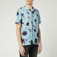 PS Paul Smith Men's Printed Short Sleeve Casual Shirt - Multi - XXL
