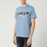 PS Paul Smith Men's Photos T-Shirt - Grey Blue - L