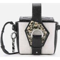 Ganni Women's Leather Bucket Bag - Nature
