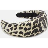 Ganni Women's Padded Hairband - Leopard