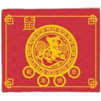 Decorative Chinese New Year Blanket Fleece Blanket - Blanket Gifts