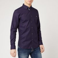Ted Baker Men's Yesway Shirt - Navy - M/3