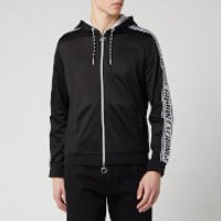 Armani Exchange Men's Tape Detail Hoodie - Black - S