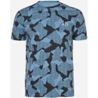 Armani Exchange Men's Camo T-Shirt - Riviera Camo - M