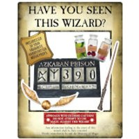 Harry Potter Gold Wanted Selfie Frame Poster with Props - Selfie Gifts