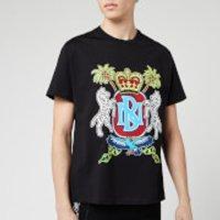 Neil Barrett Men's Coat of Arms Jody Paulson T-Shirt - Black/Multi - XL