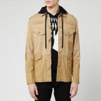 Neil Barrett Men's Vintage Military Jacket - Old Biscuit - L