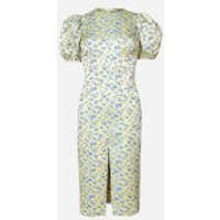 ROTATE Birger Christensen Women's Katarina Dress - Turkish Sea - DK 38/UK 12