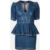 ROTATE Birger Christensen Women's Mindy Dress - Medium Blue - DK 40/UK 14