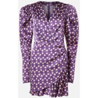 ROTATE Birger Christensen Women's Aiken Dress - Pansy - DK 34/UK 8