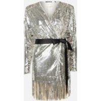 ROTATE Birger Christensen Women's Samantha Dress - Silver - DK 42/UK 16