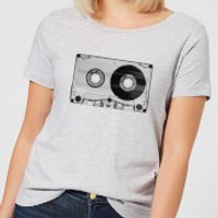 The Motivated Type Cassette Tape Women's T-Shirt - Grey - 4XL - Grey