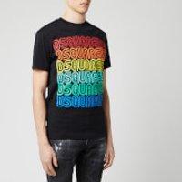 Dsquared2 Men's Multi Logo Cool Fit T-Shirt - Black - S