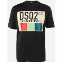 Dsquared2 Men's Box Logo T-Shirt - Black - L