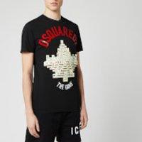 Dsquared2 Men's Arch Logo T-Shirt - Black - L