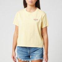Levi's Women's Graphic Varsity T-Shirt - Yellow - S