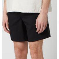 AMI Men's Elasticized Waist Bermuda Shorts - Noir - L