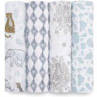aden + anais Classic Swaddles - Jungle (4 Pack)