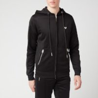 True Religion Men's Hooded Zip Jacket - Black - S