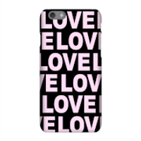 Image of Love Love Love Love Phone Case for iPhone and Android - iPhone 6 - Tough Case - Gloss