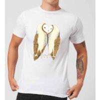 Nuzzling Barn Owls Men's T-Shirt - White - 5XL - White - Owls Gifts