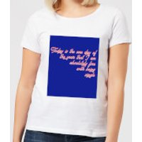 Don't Mind Being Single Today Women's T-Shirt - White - 4XL - White
