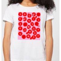 Love Letters Women's T-Shirt - White - XS - White