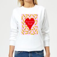I Love You As Much As I Love Pasta Women's Sweatshirt - White - S - White