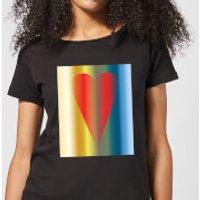 Art Heart Women's T-Shirt - Black - XXL - Black