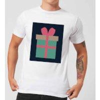 Plain Present Men's T-Shirt - White - XXL - White - Present Gifts