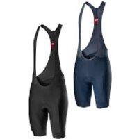 Castelli Entrata Bib Shorts - XL - Dark Infinity Blue