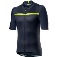 Castelli Unlimited Jersey - S - Dark Steel Blue