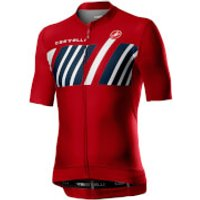 Castelli Hors Categorie Jersey - M - Red