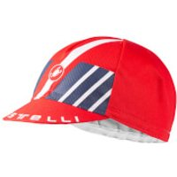 Castelli Hors Categorie Cap - Dark Gray/Red