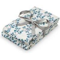 Cam Cam Printed Muslin Cloth - Fiori (Pack of 2)