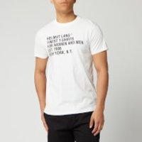 Helmut Lang Men's Standard T-Shirt - Chalk White - S
