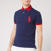 Polo Ralph Lauren Men's Short Sleeve Big Pony Polo Shirt - Newport Navy - S