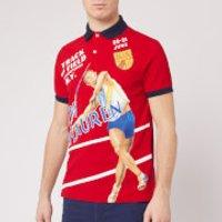 Polo Ralph Lauren Men's Printed Polo Shirt - Red Multi - L