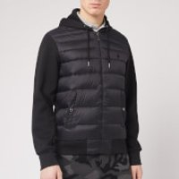 Polo Ralph Lauren Men's Multi Knit Hooded Down Jacket - Polo Black - L