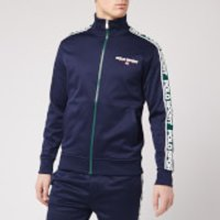 Polo Ralph Lauren Men's Polo Sport Stripe Fleece Track Jacket - Cruise Navy - L