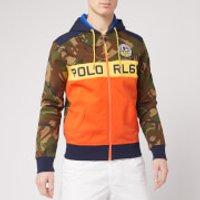 Polo Ralph Lauren Men's Camo Zip Up Hoodie - Camo Multi - S