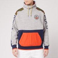 Polo Ralph Lauren Men's Pullover Fleece - Stadium Pepper Heather - M