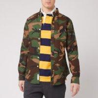 Polo Ralph Lauren Men's Button Down Oxford Shirt - Camo Print - M