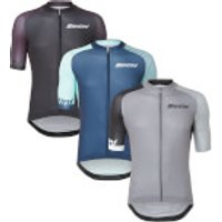 Santini Exclusive Karma Evo Jersey - XL - Black