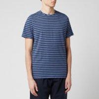 Oliver Spencer Men's Conduit T-Shirt - Navy/Sky Blue - S