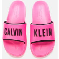 Calvin Klein Women's Slide Sandals - Pink Glo - UK 2/3