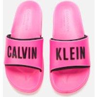 Calvin Klein Women's Slide Sandals - Pink Glo - UK 2/3