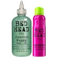 TIGI Bed Head Shiny Hair Styling Set for Smooth Shiny Hair