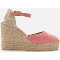 Castaner Women's Carol Wedged Platform Espadrille Sandals - Rosa - UK 7.5